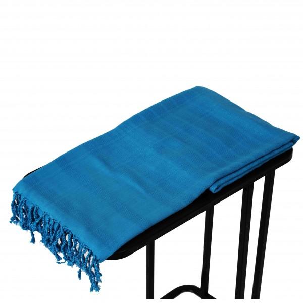 Hamamdoek van Bamboe , Blauw , 90 x 200cm