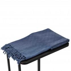 Hamamdoek,Stonewashed, Denim, Blauw, 90x175 cm.