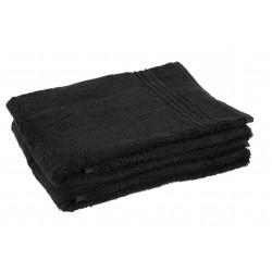 Zwarte Bamboe Handdoek 100x50 cm, 600gr m2